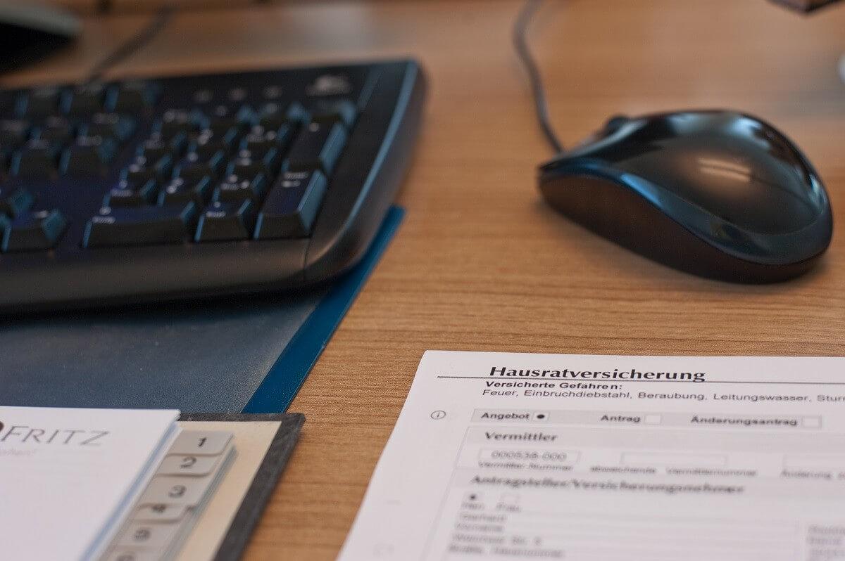 Vertragsmanagement Hotelversicherung