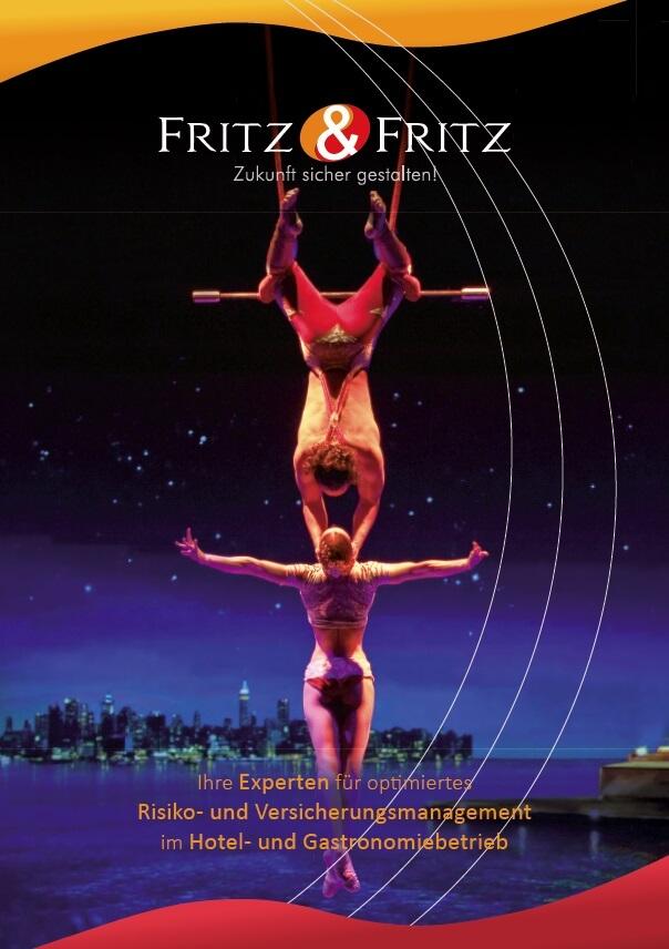 Fritz & Fritz Imagebroschüre Hotelversicherer
