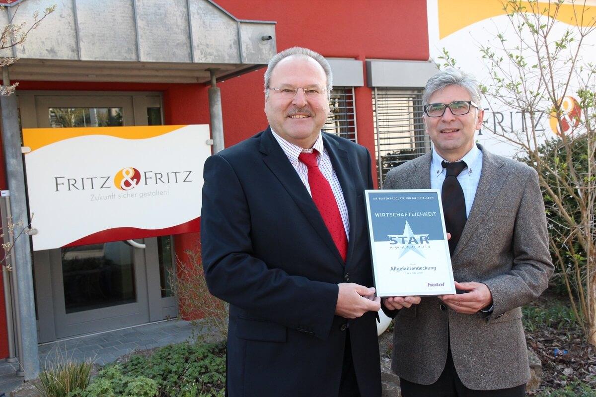 Star Award Fritz & Fritz