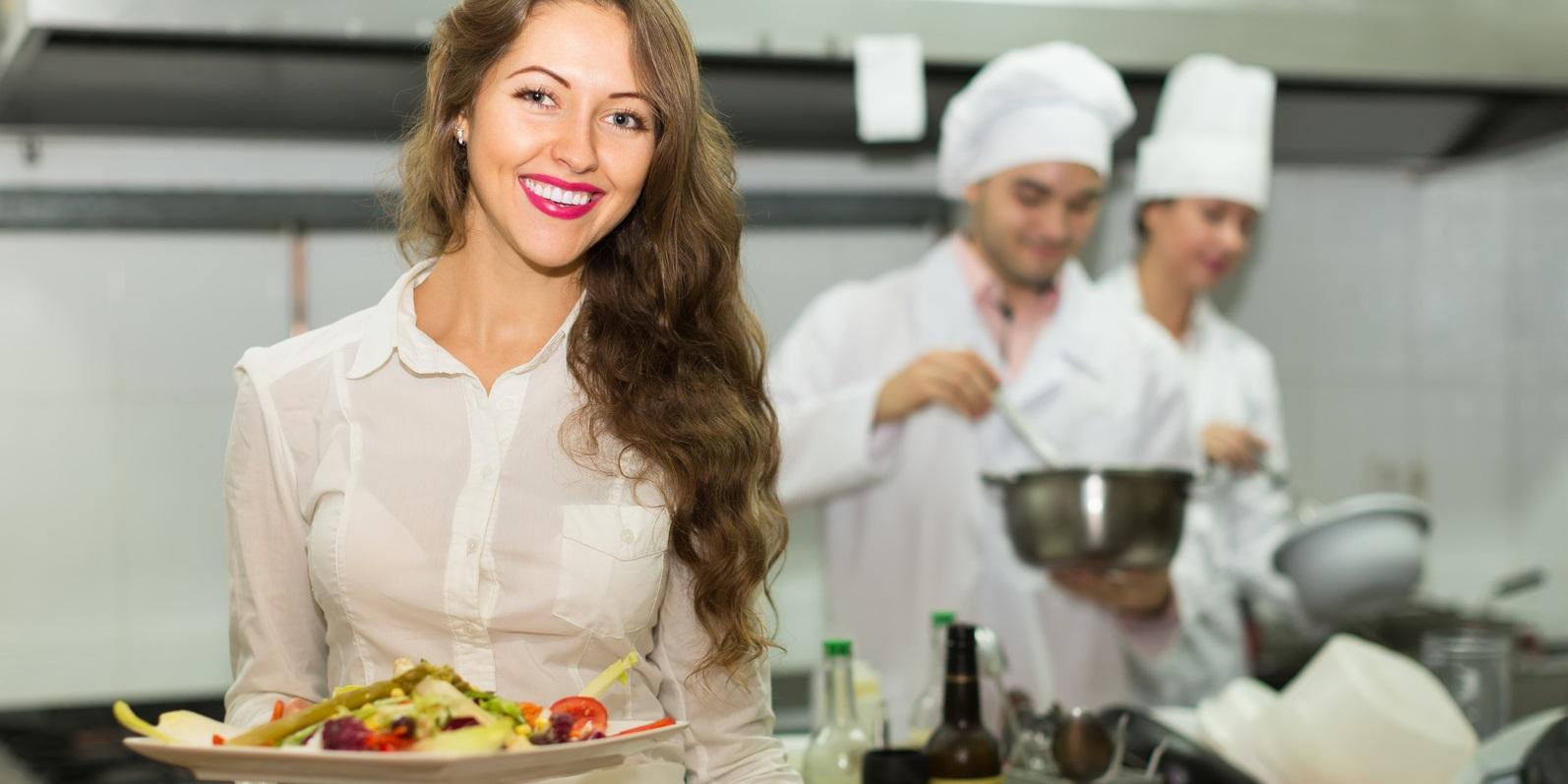 Küche Bedienung