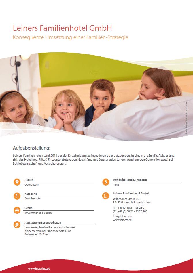 Leiners Familienhotel Referenz Hotelversicherung