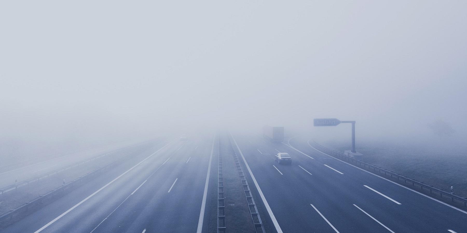Nebel, Verkehr Sicherheit, Versicherung