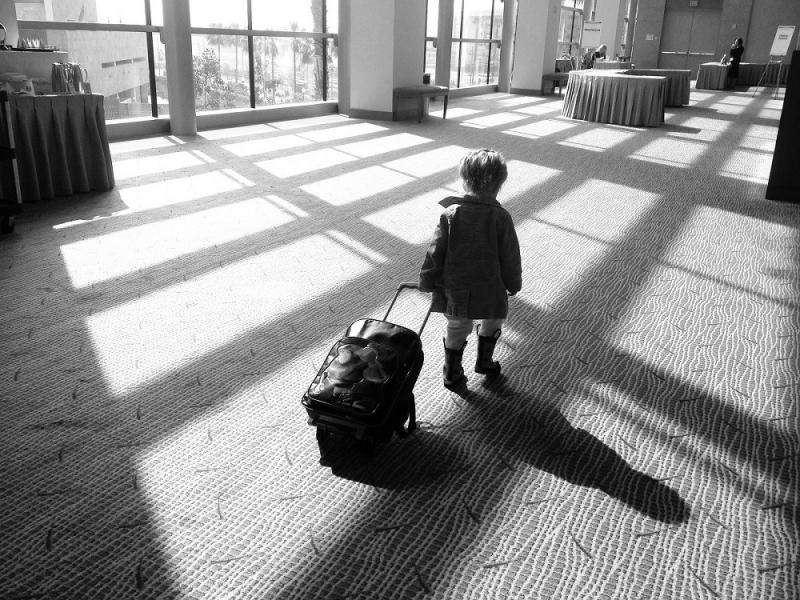 Mädchen Reise Versicherung
