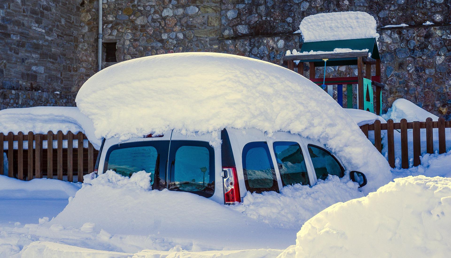 Winter Schnee Versicherung
