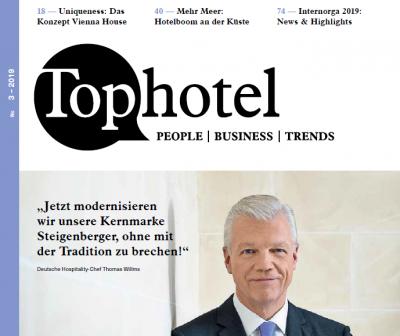 Top Hotel 3/2019: Sturmschäden - Die richtige Vorsorge